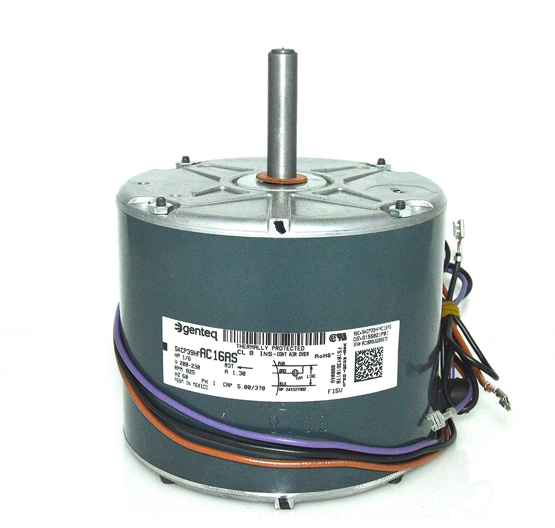 Trane American Standard Condenser FAN MOTOR 1 6 HP 200 230v D P01 MOT Amazon