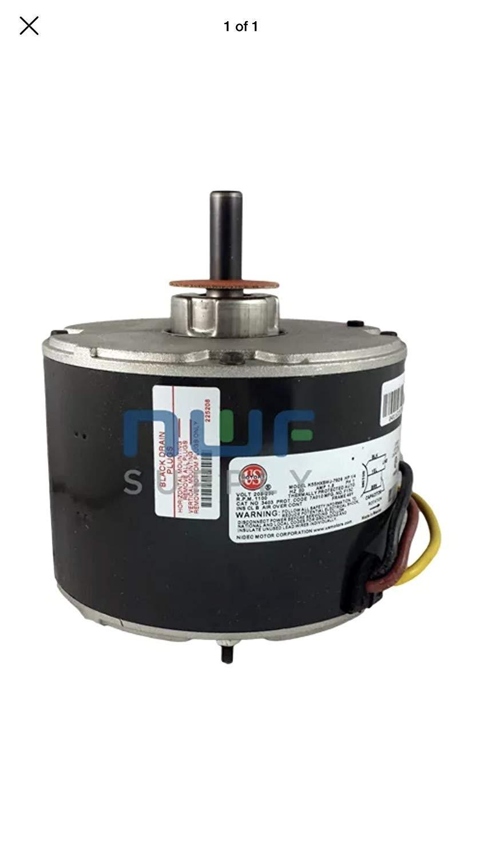 OEM Upgraded GE Genteq Carrier Bryant Payne 1 4 HP 230v Condenser Fan Motor 5KCP39EGS070S Electric Fan Motors Amazon