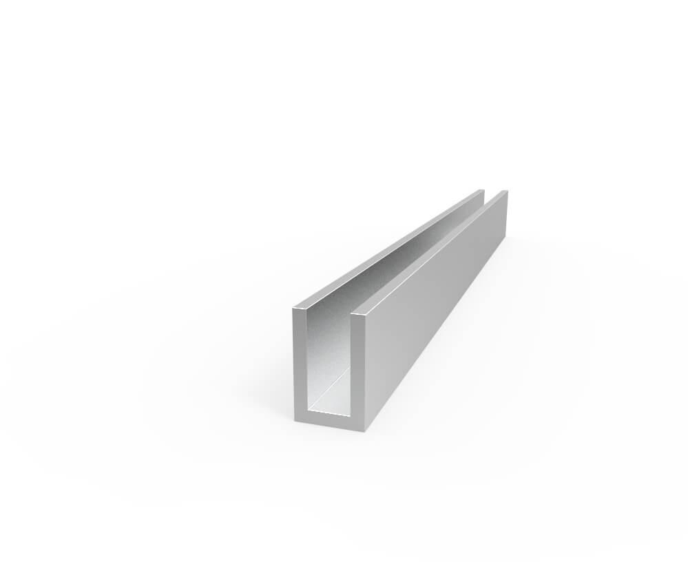 Aluminum Channel – 1 2″ Leg X 313″ OD X 3 16″ ID
