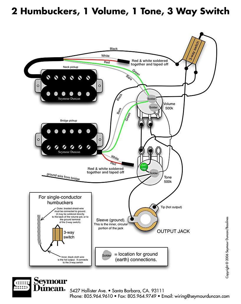 Wiring Diagram Fender Squier Cyclone In 2019 Guitar Pickups Guitar Wiring Diagrams 2 Pickups 1 Volume 2 Pickup Wiring Diagram