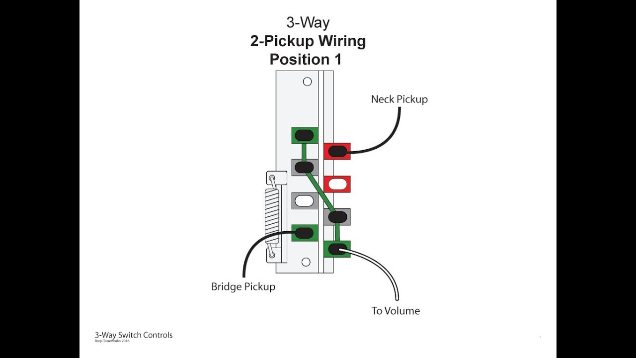Understanding How A 3 Way Lever Switch Works Youtube 3 Way Switch Wiring Diagram Guitar 3 Way Switch Wiring Guitar