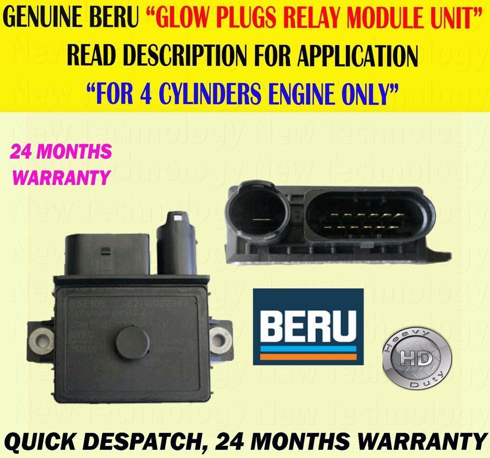 Détails sur Pour bmw série 1 116D 118D 120D 123D LCI2 0D glow plug relay module de contr´le unité afficher le titre d origine