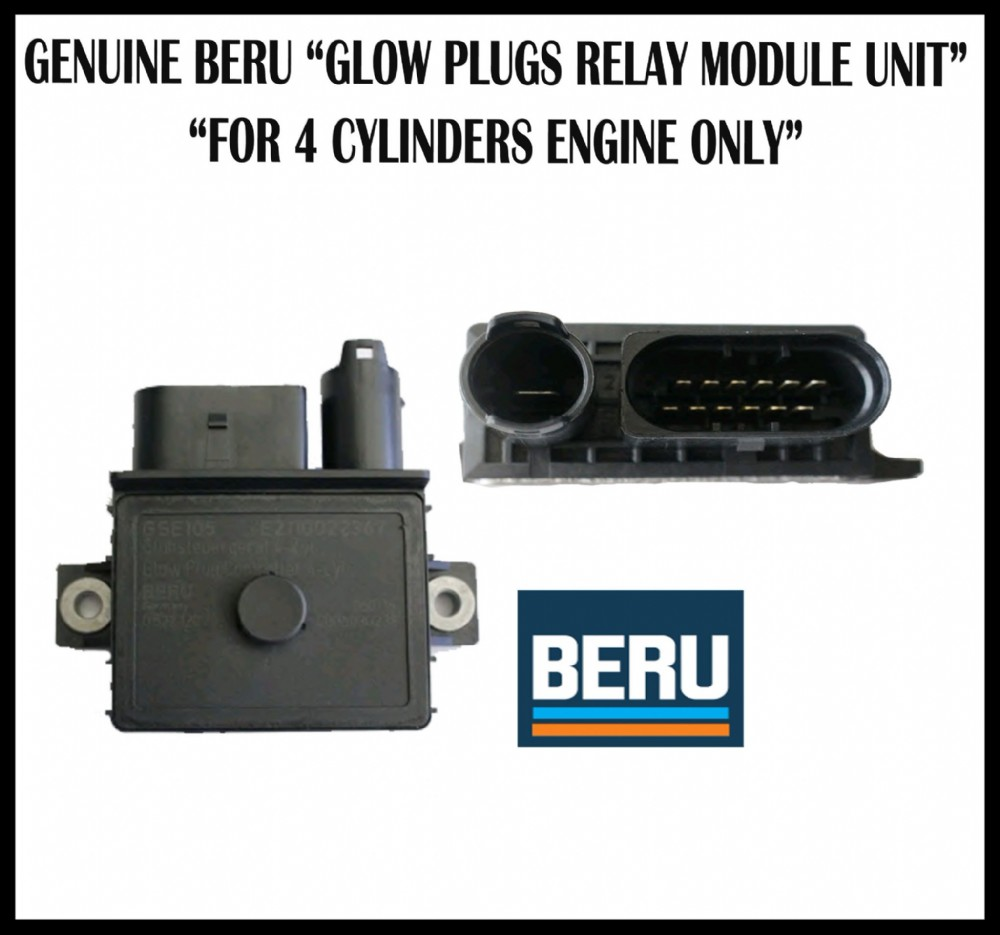 For Bmw 3 Series 316 318 320 320Xd 2 0D 1 SERIES 116D 118D 12 0 Glow Plug Relay Control Module Unit