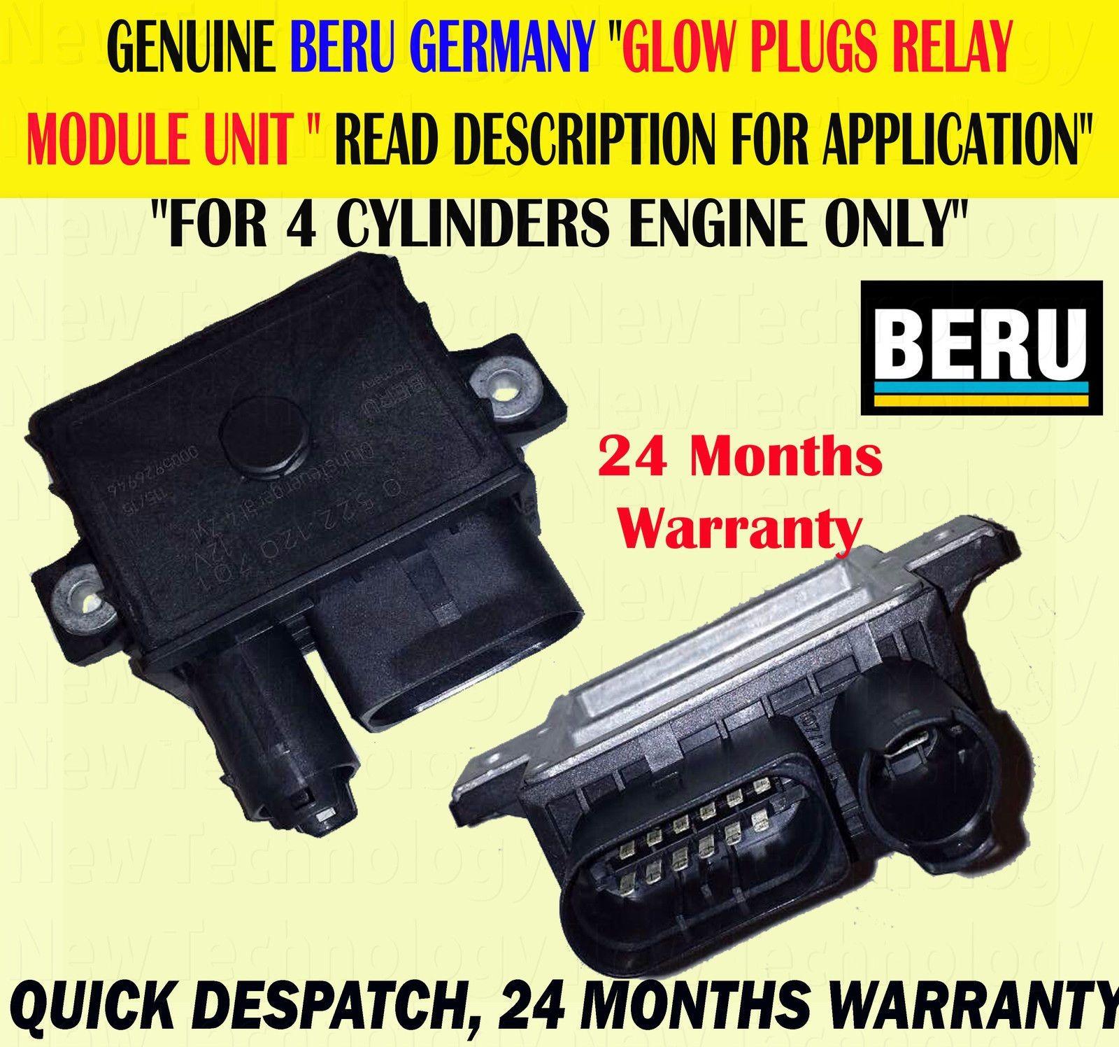 For BMW 1 5 SERIES 118D 120D 520D X3 2 0D GLOW PLUG RELAY CONTROL MODULE UNIT