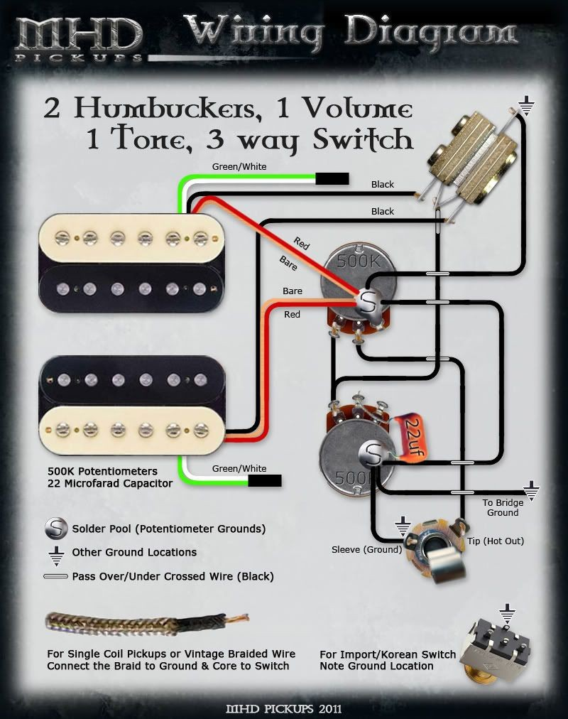 Esp Wiring Diagrams 1 Volume Tone Full