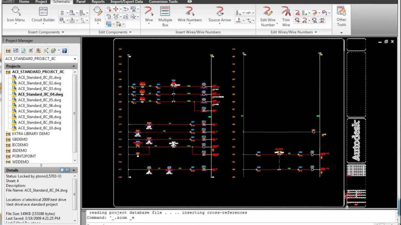 AutoCAD Electrical Electrical schematic symbol libraries