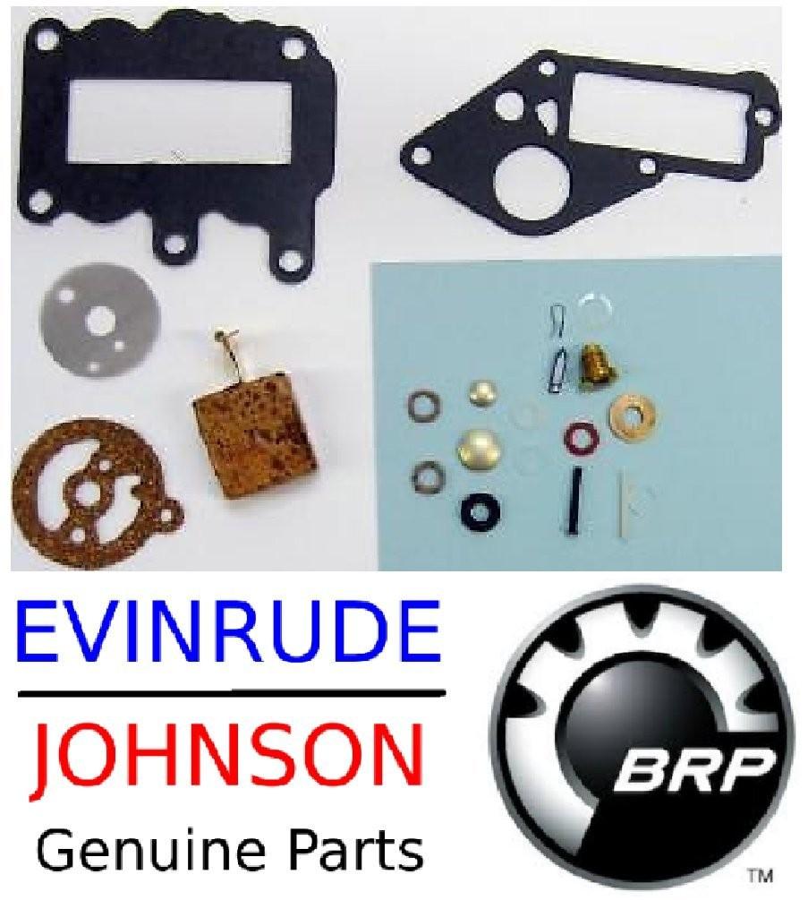 Amazon Johnson Evinrude Outboard Engine Premium Carburetor Repair Kit 1964 1973 9 5 HP BRP Sports & Outdoors