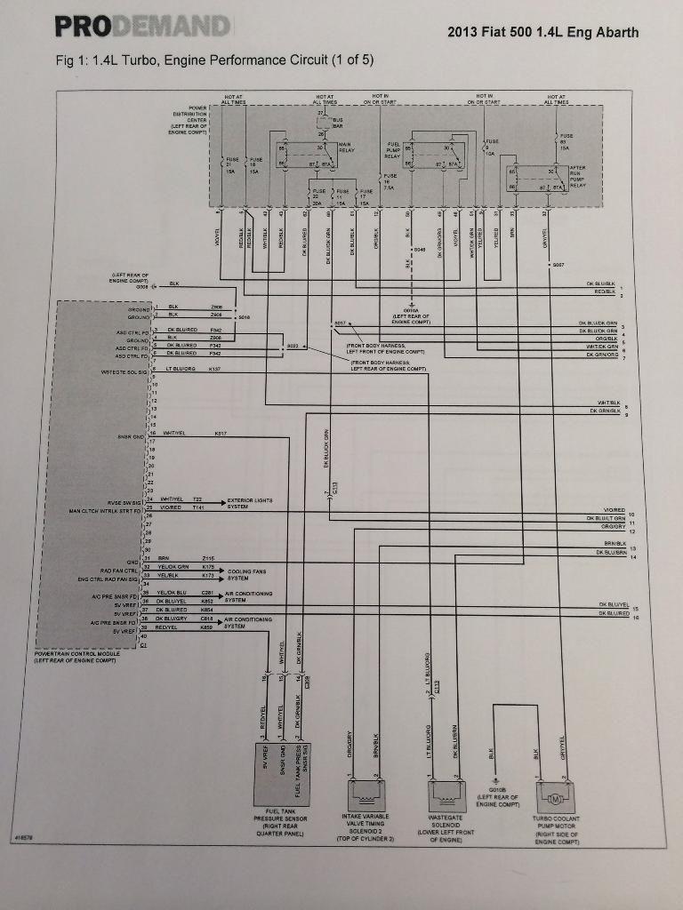 Fiat 500 Wiring Diagrams Fiat 500 Backup Light Wiring Diagram Fiat 500 Wiring Diagram
