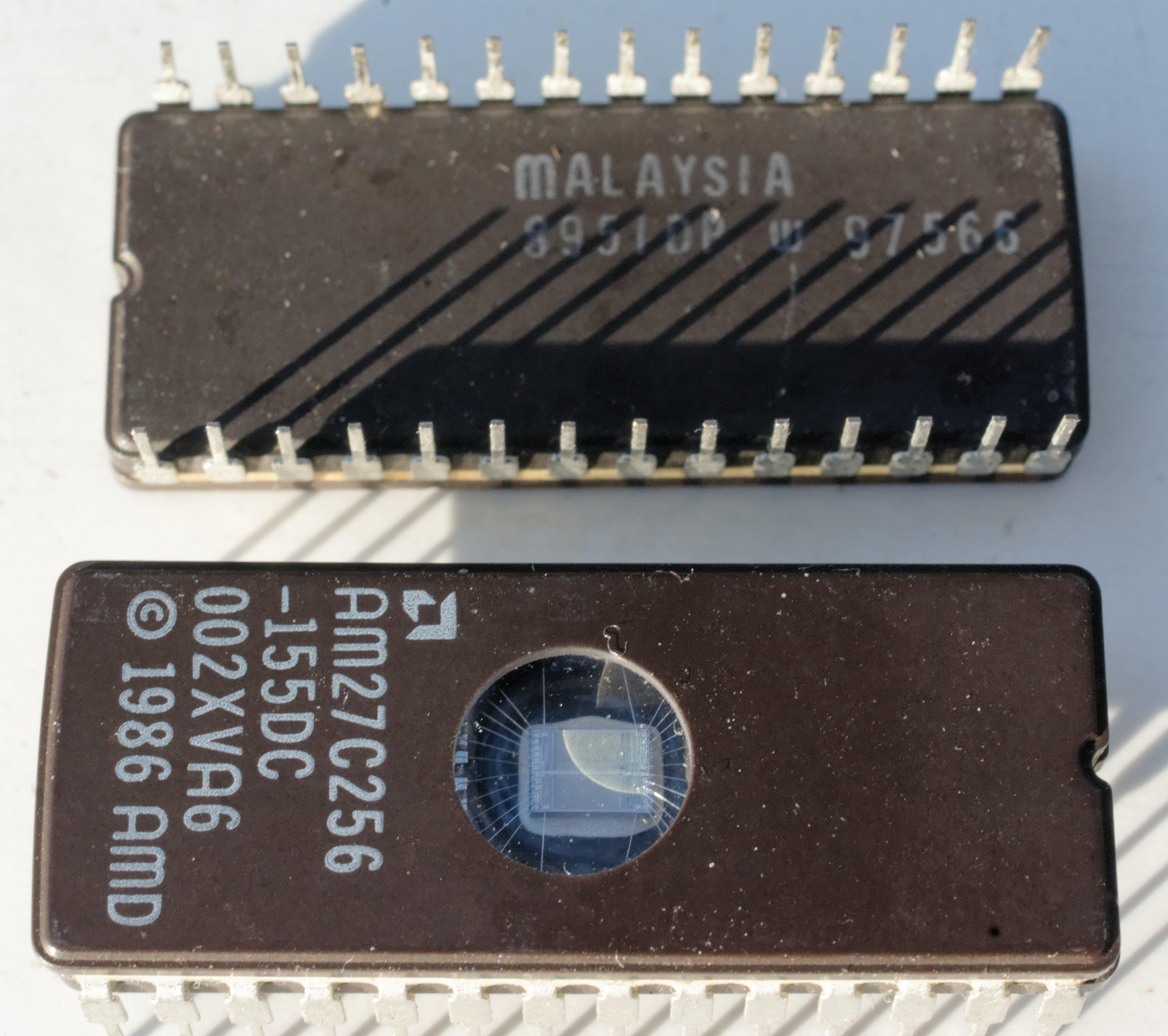 Pair of BIOS chips