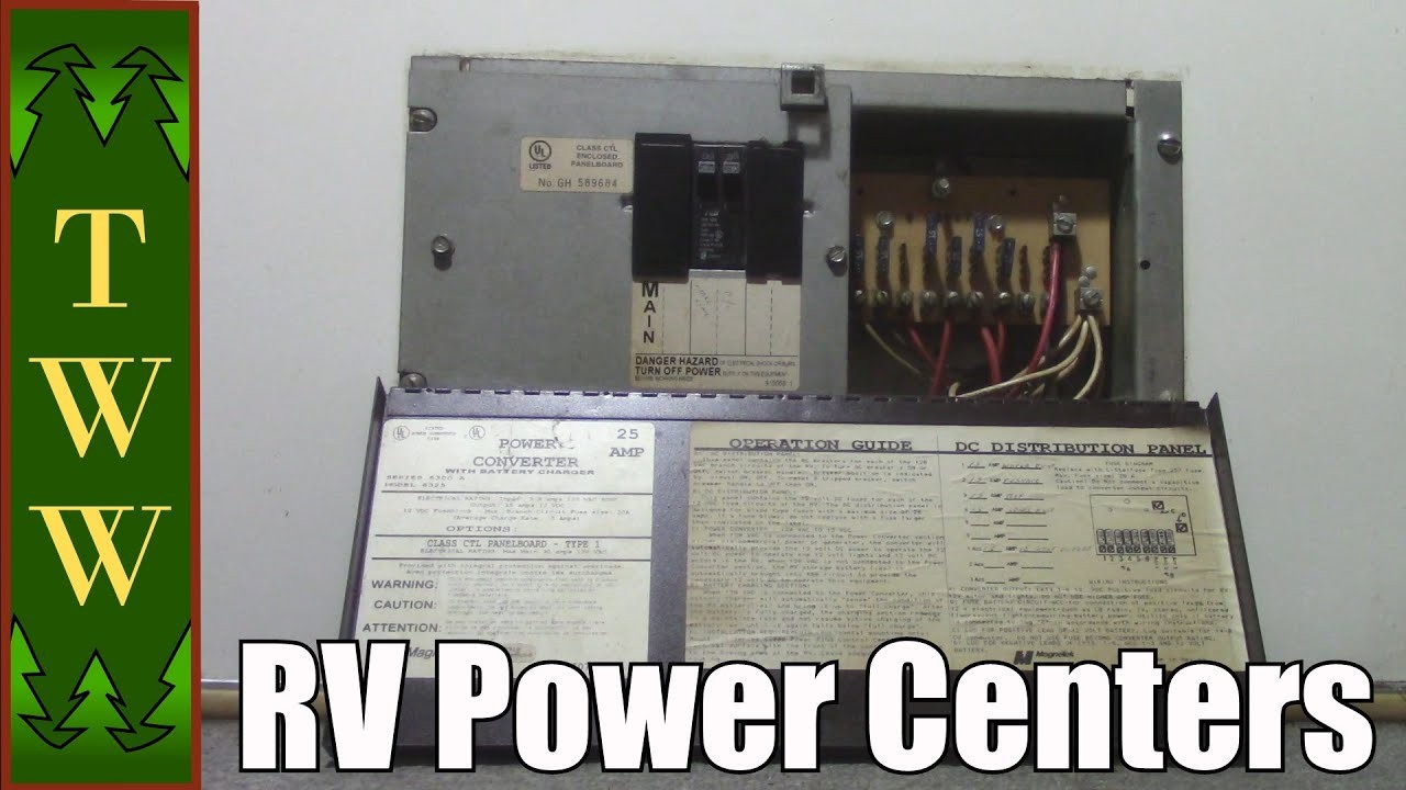RV Power Centers and Upgrade Options For The Magnetek 6300