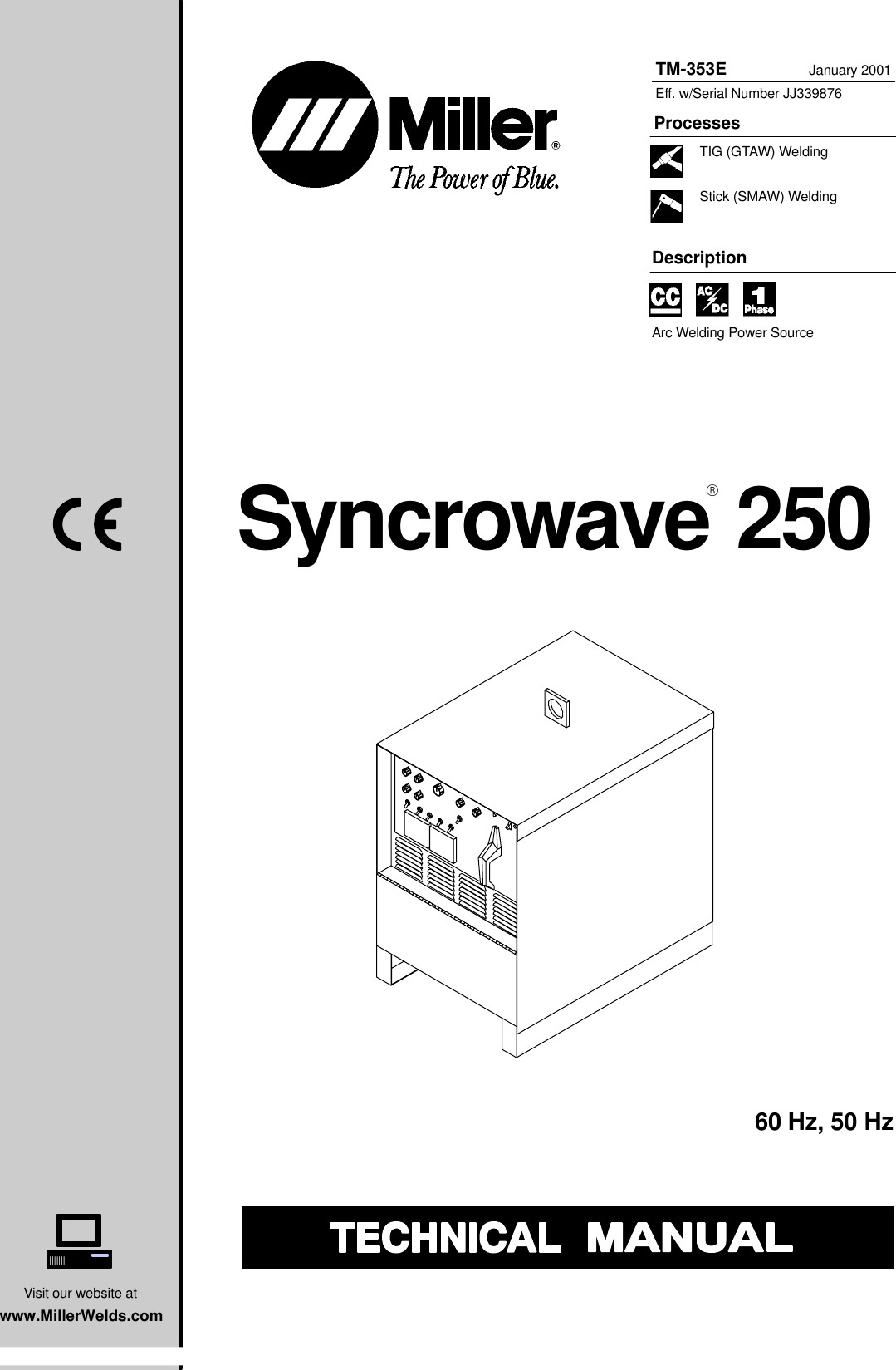 Miller Electric Syncrowave 250 Technical Manual ManualsLib Makes It Easy To Find Manuals line
