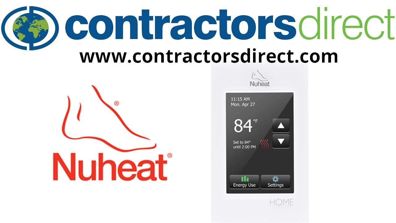 Nuheat SOLO Floor Heating Programmable Thermostat 1 Setting the Day and Time