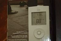 Nuheat solo Elegant Nuheat solo Programmable thermostat for Electric Floor Heating 120