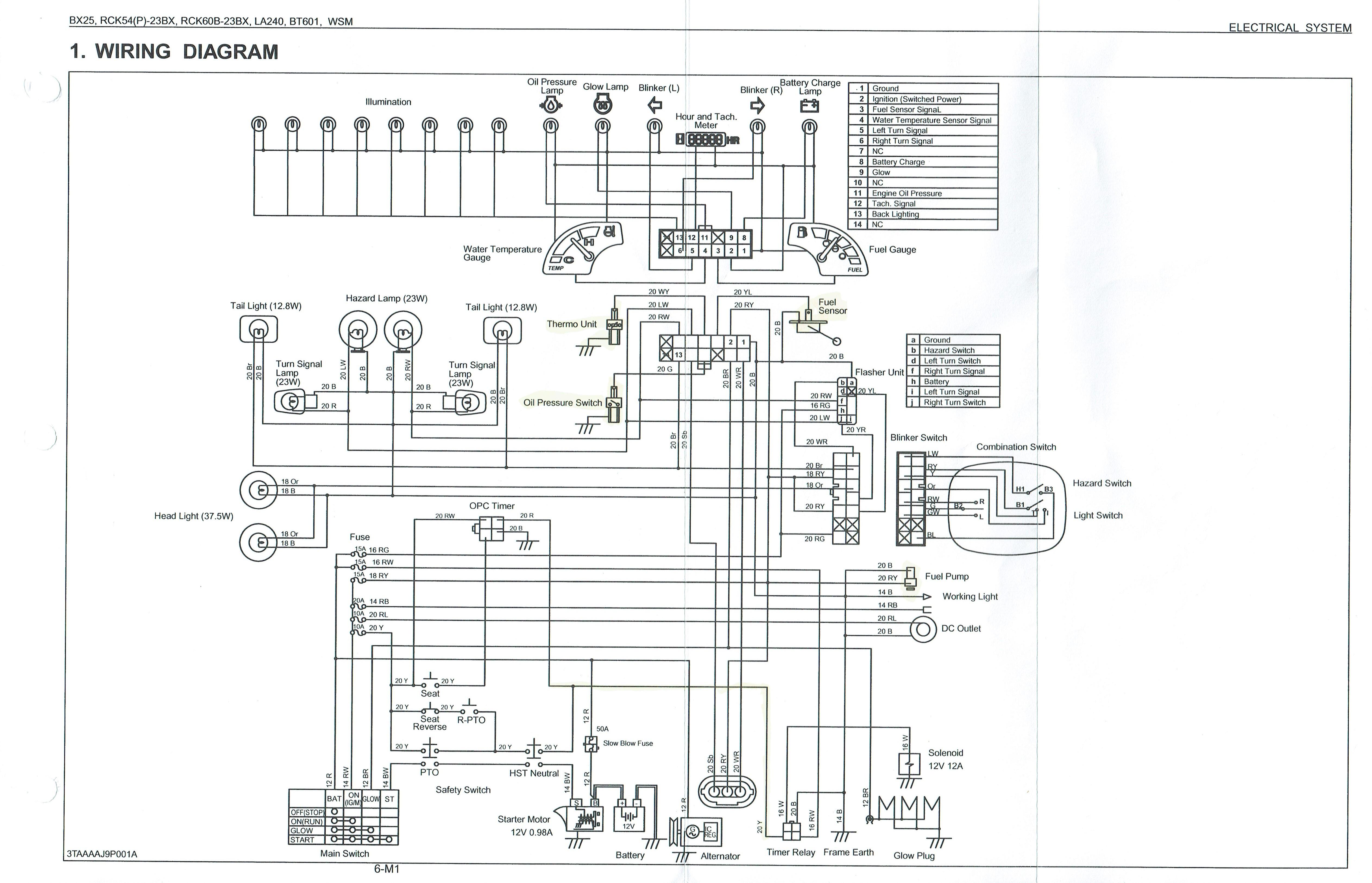 Need Help Troubleshooting Fuel Shut f System Bx24 Kubota Tractor Kill Relay Wiring Diagrams