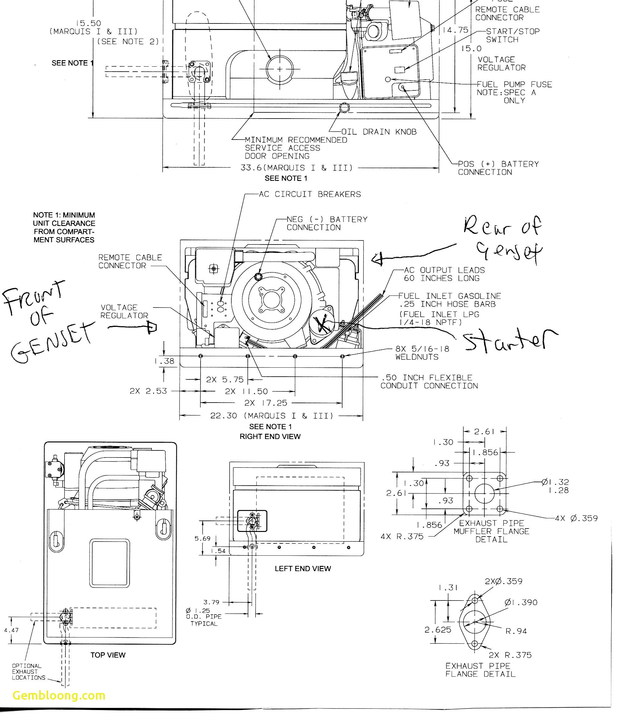 6.5 Onan Generator Wiring Diagram from mainetreasurechest.com