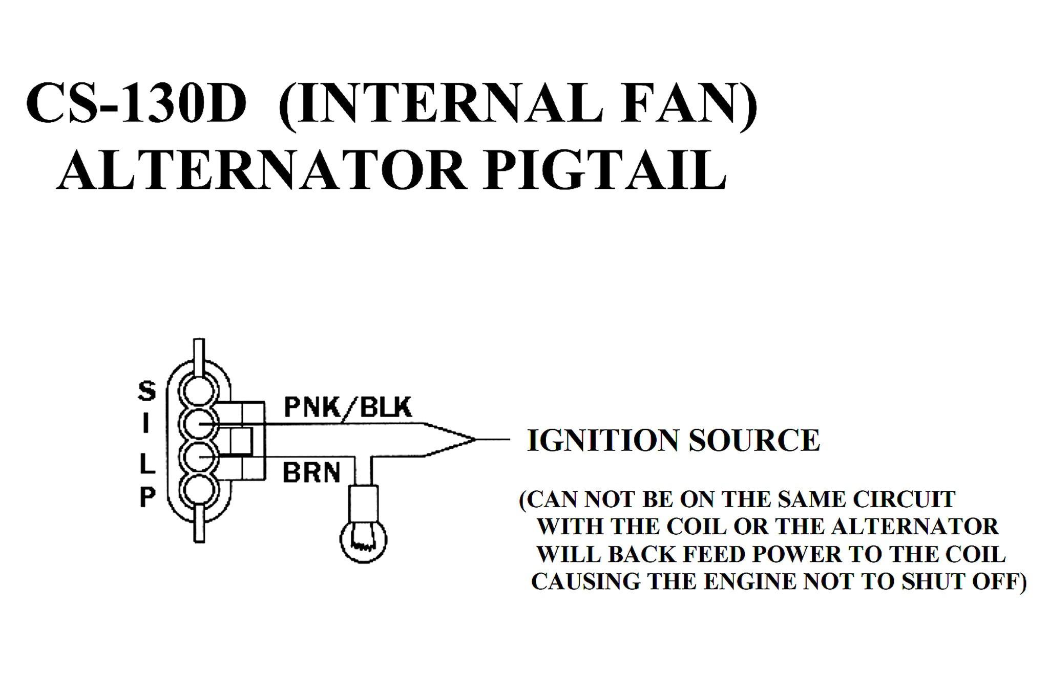 Internal Fan Alternator