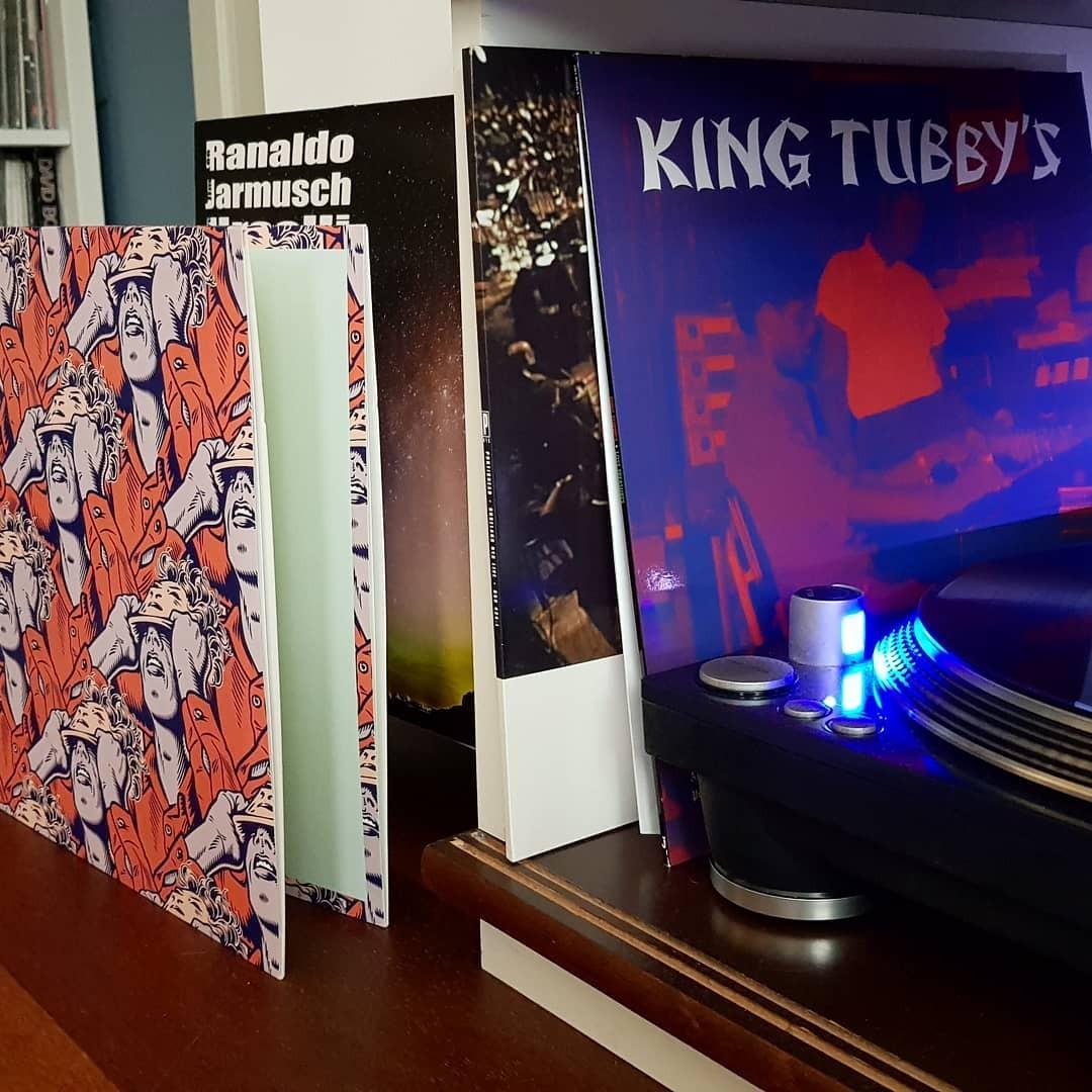 Todays mail kingtubby kingtubbyslosttreasures portishead roselandnyc leeranaldo jimjarmusch