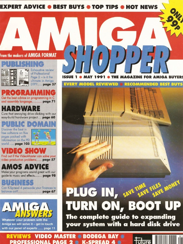 Amiga Shopper Magazine Issue 1 May 91 Recursion