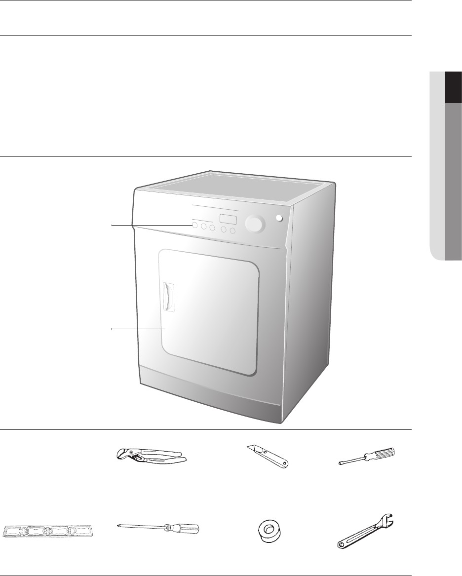 Installing your dryer 7