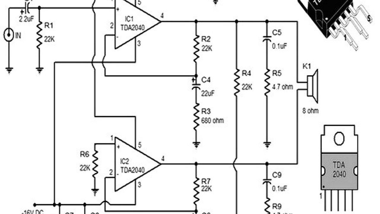 30w power and tda2040