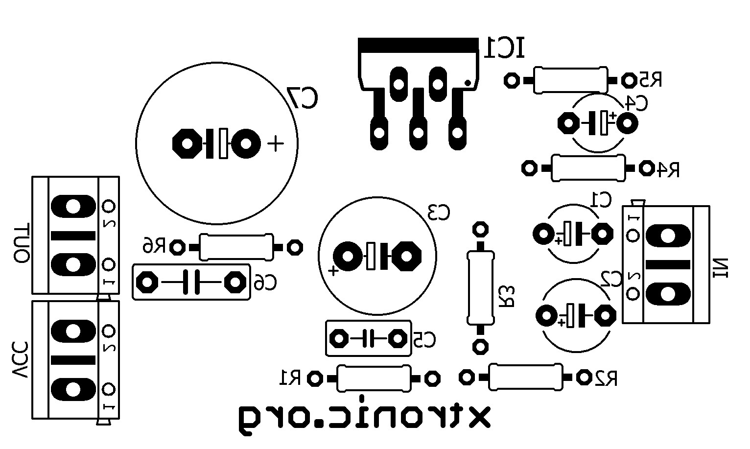 Suggestion for PCB amplifier circuit tda 2040