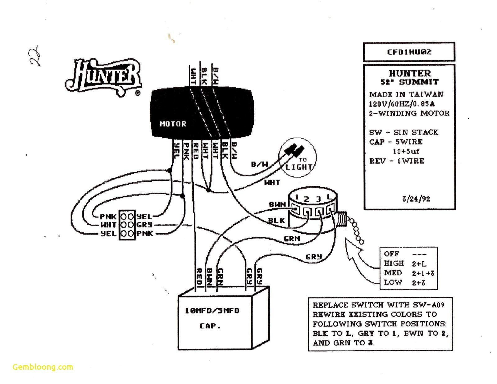 5 wire ceiling fan capacitor wiring diagram for installing a free