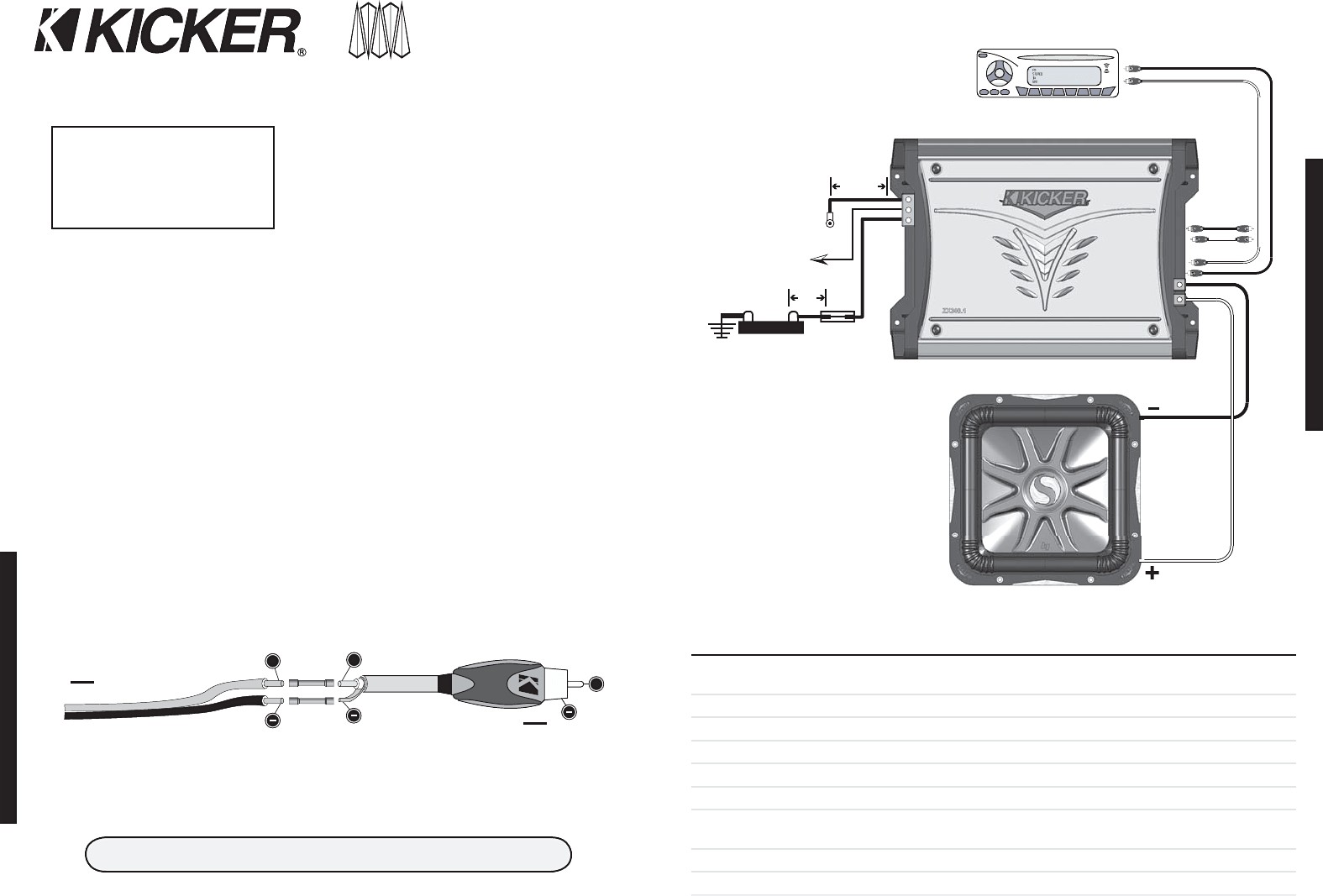 Collection Kicker L5 12 Wiring Diagram Subwoofer E 2 Ohm Dual Kicker Wiring