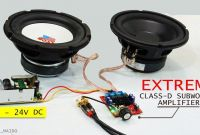 Subwoofer Amplifier Wiring Elegant Extreme Subwoofer Test with Mini Tpa3116d2 Class D Amplifier