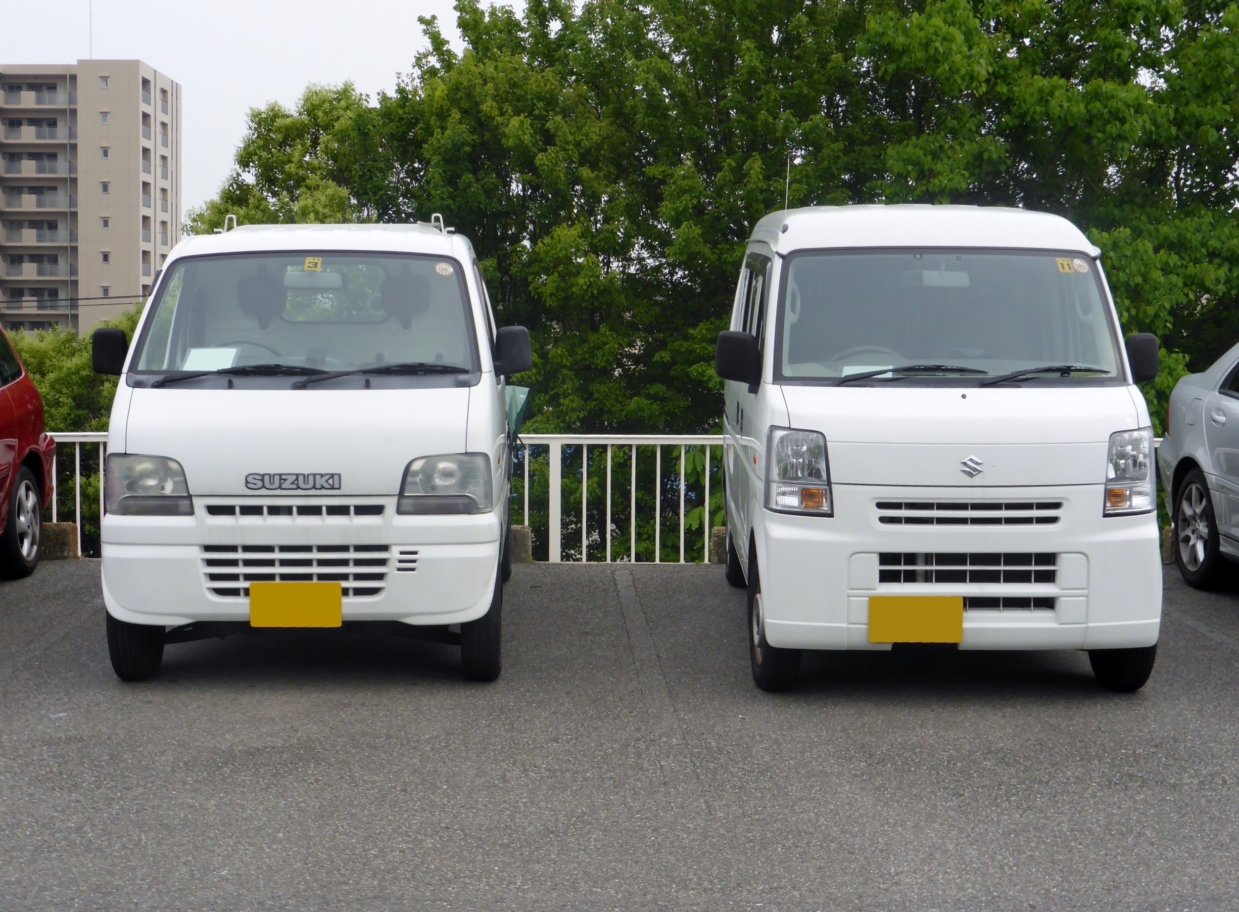 Suzuki CARRY DA62T & EVERY VAN DA64 front JPG