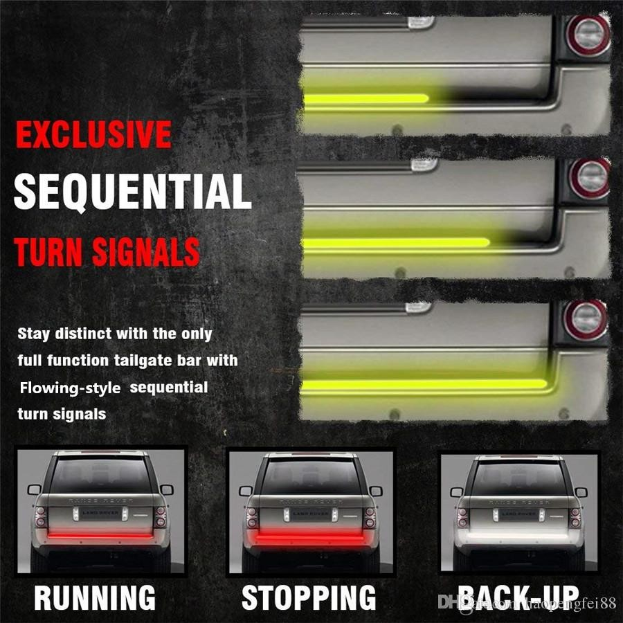 2019 60 Triple Row LED Tailgate Light Bar 5 Modes Reverse Brake Turn Signal Light From Haopengfei88 $27 14