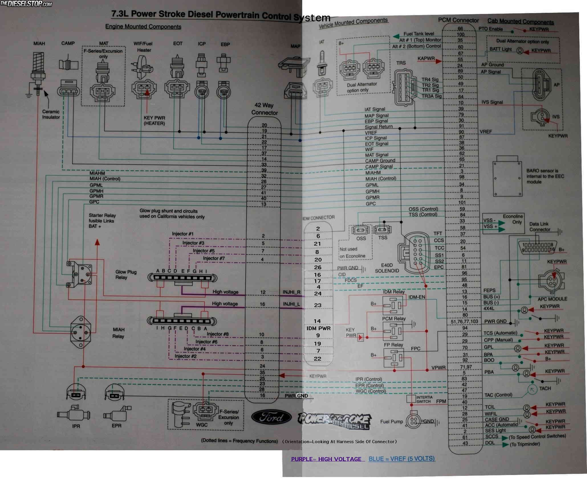 it s very detailed and shows how every wire for each ponent routes to the PCM