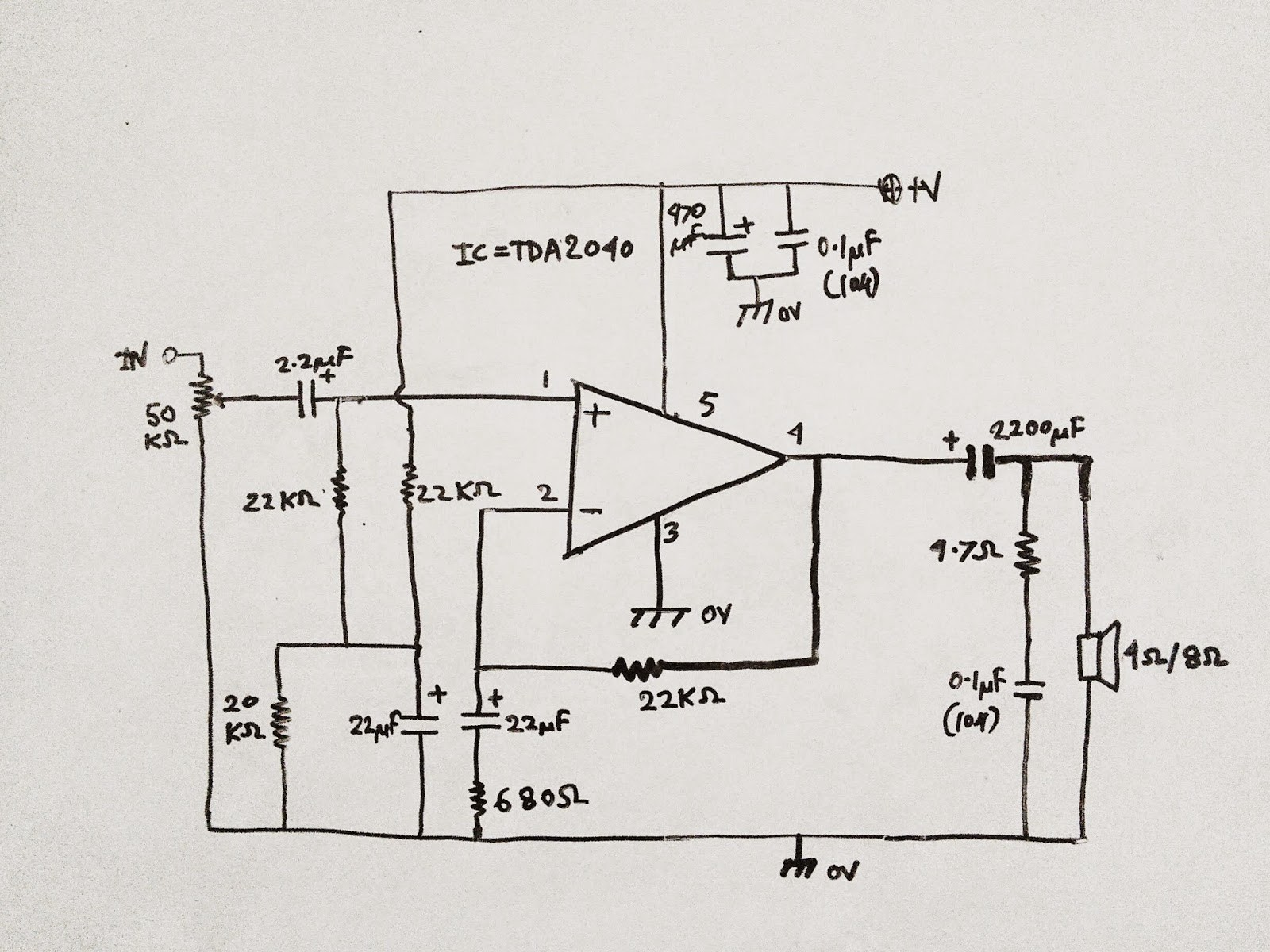 Another Amplifier Using TDA2040