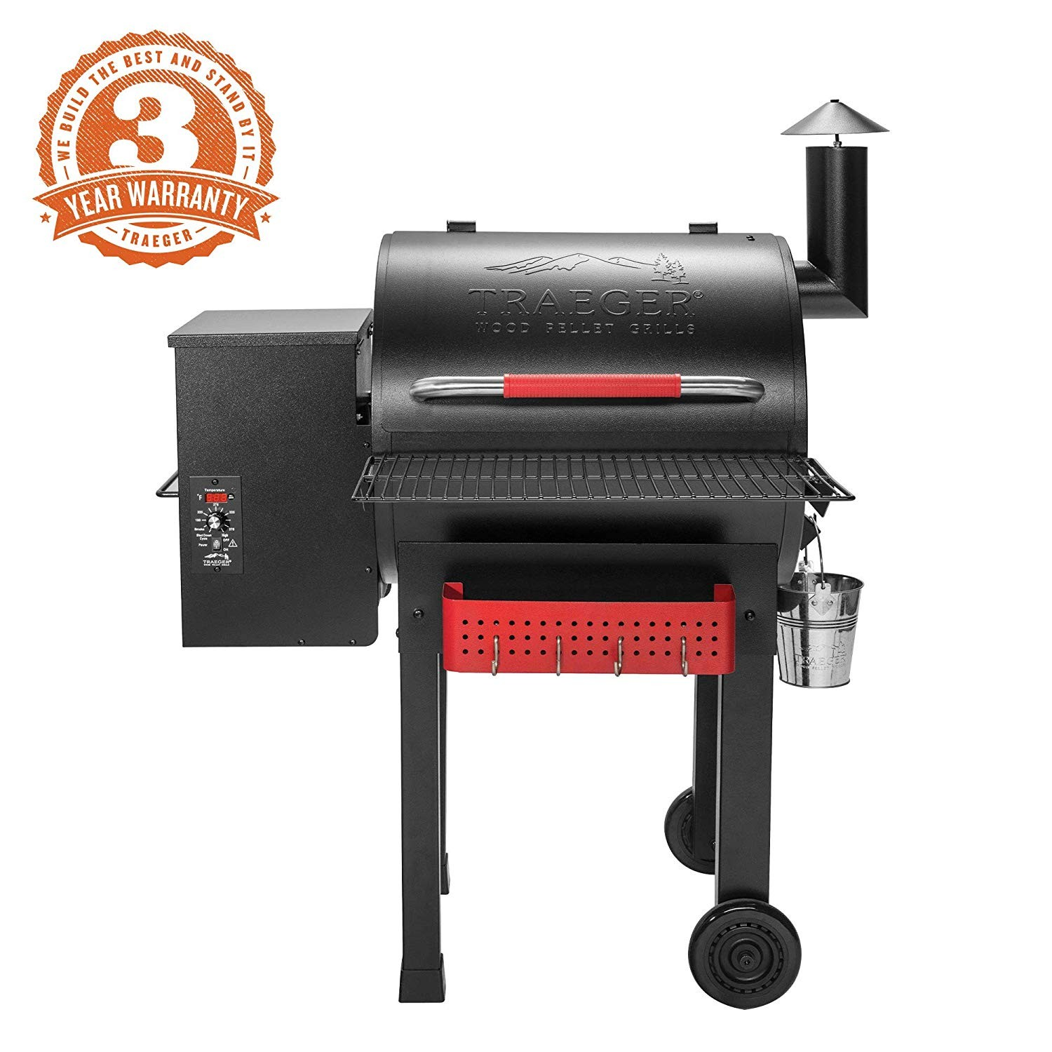 Amazon Traeger Grills TFB38TCA Renegade Elite Wood Pellet Grill Garden & Outdoor