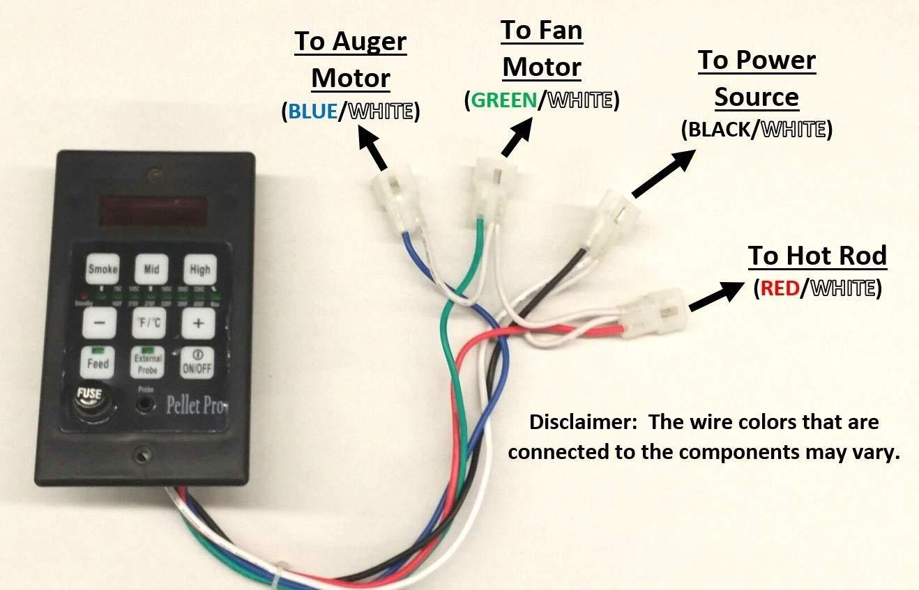 Amazon Pellet Pro PID Pellet Grill Controller for Traeger Pit Boss