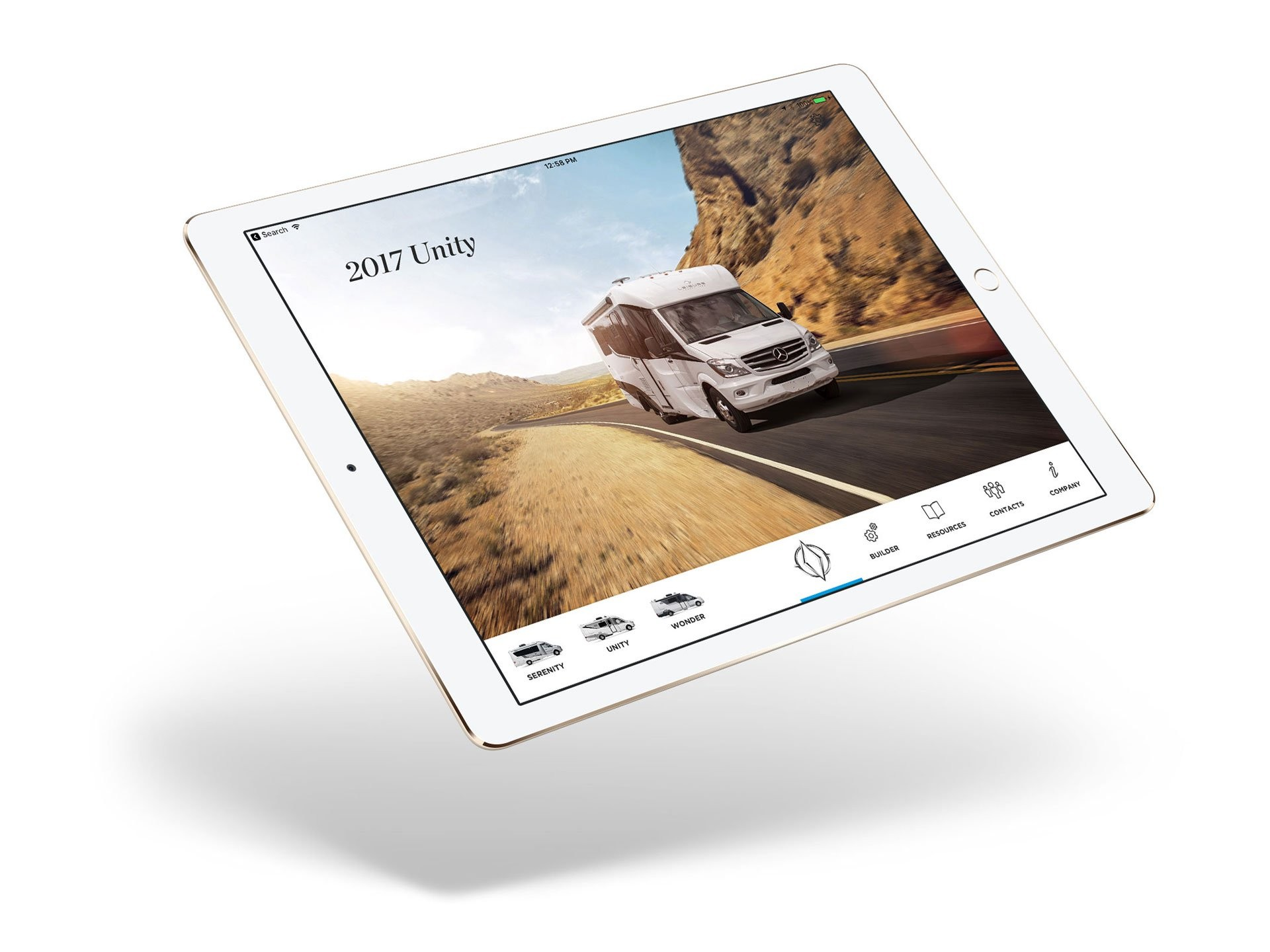 iPad app preview