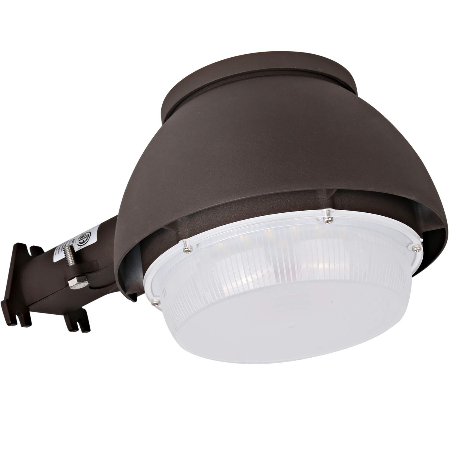 Hykolity LED Barn Light 40W 4400lm Dusk to Dawn Yard Light with cell Outdoor