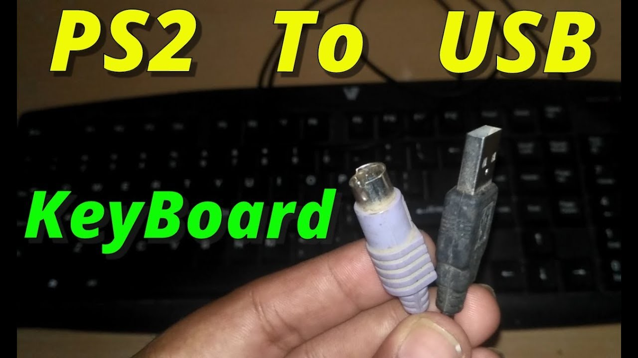 How To Convert Keyboard Ps2 To Usb Working [2018] Youtube Usb Keyboard Wiring Diagram For
