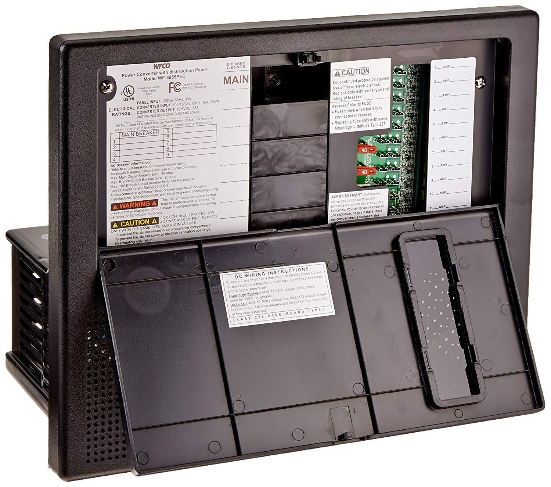 Amazon WFCO WF 8965ANPB WF 8900 Series Power Center Converter Charger 65 Amp Black Automotive
