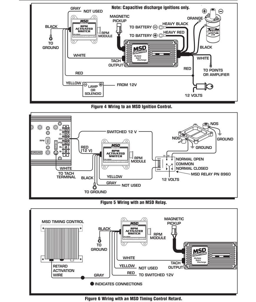 msd rpm activated switch wpm 8950 ebay rh ebay RPM Activation Switch MSD Nitrous Wiring