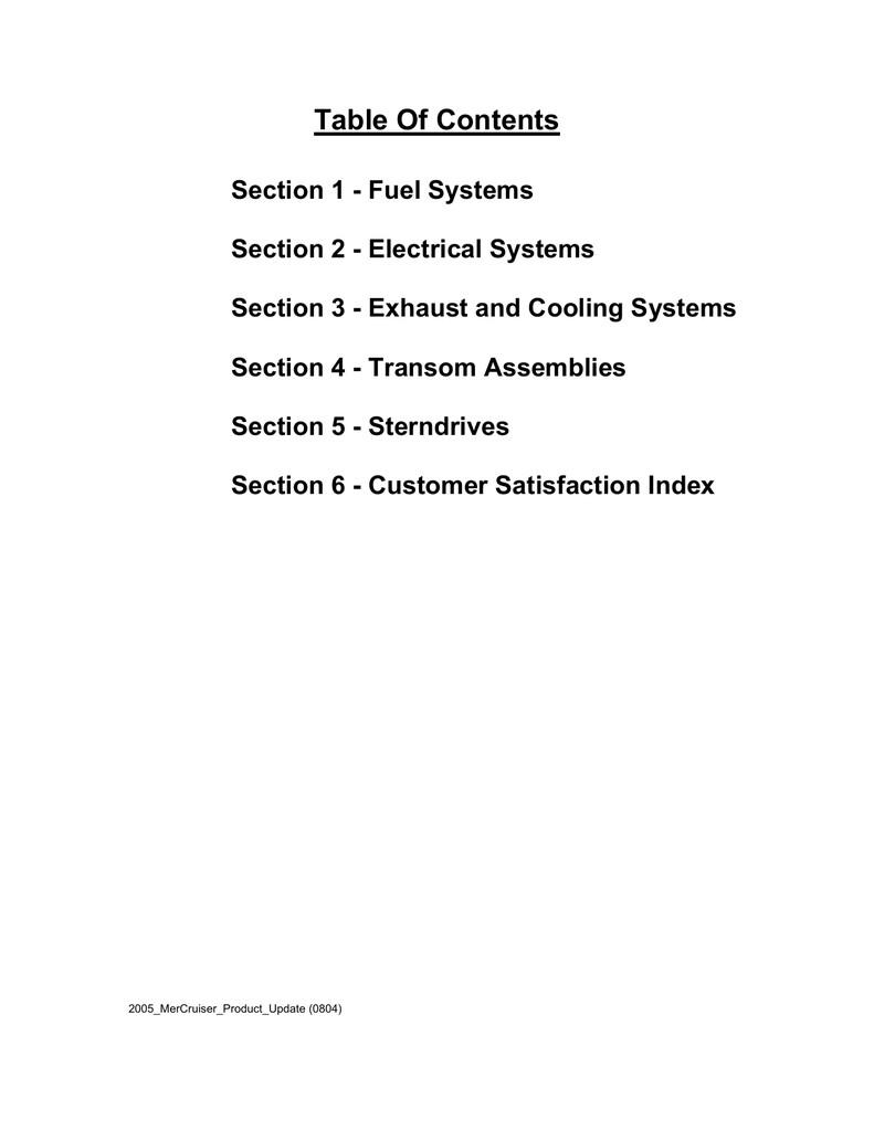 Mercury 3 0L Carbureted Alpha Specifications