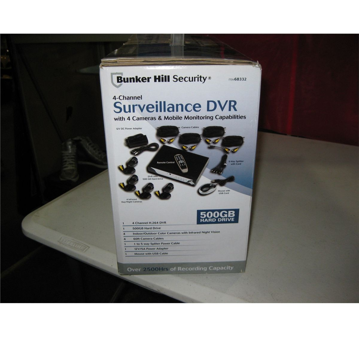 Bunker Hill Security Surveillance DVR