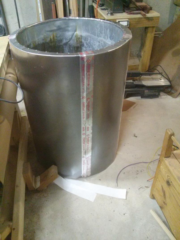 Newbie small oven build