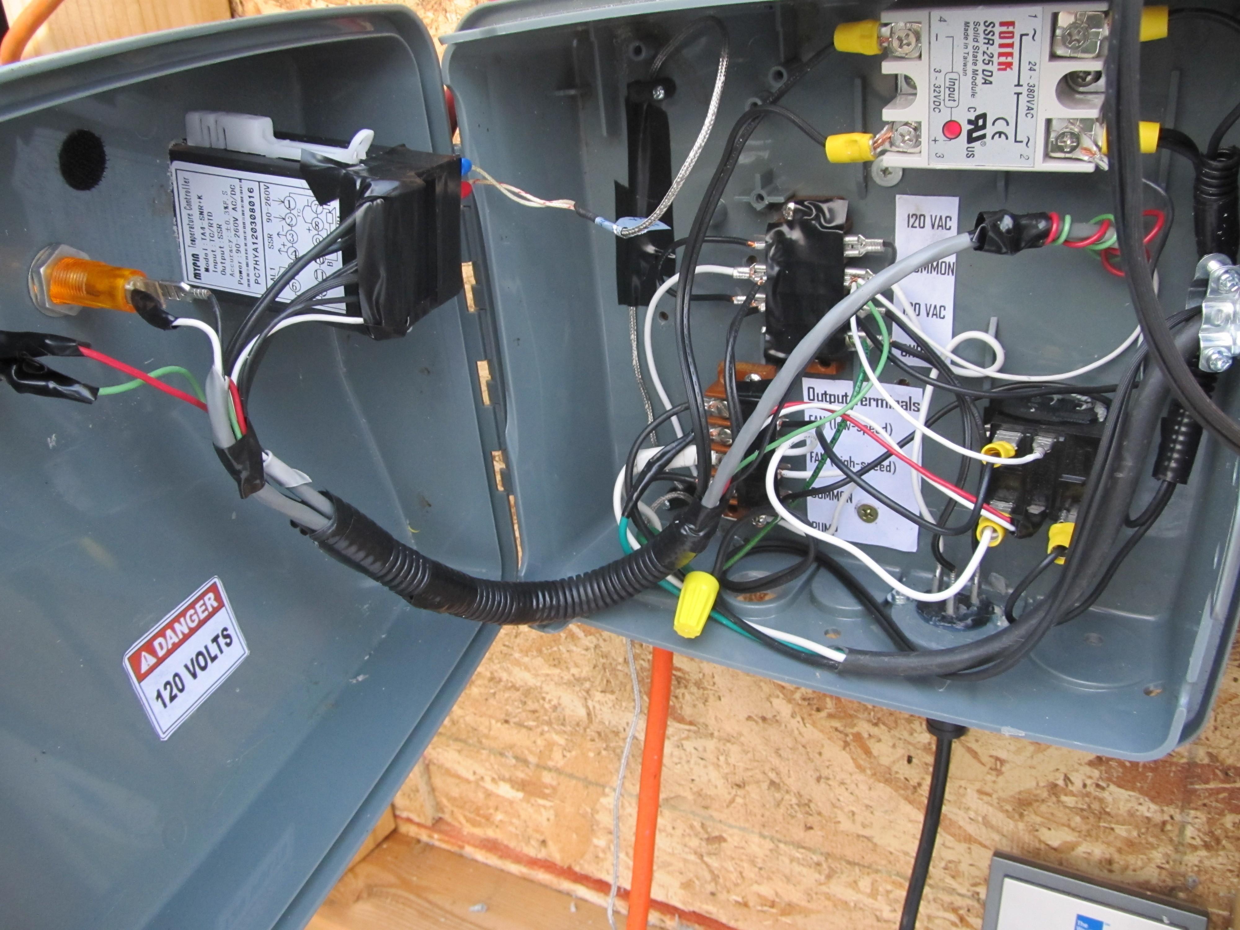 Pid Wiring Diagram Powder Coat