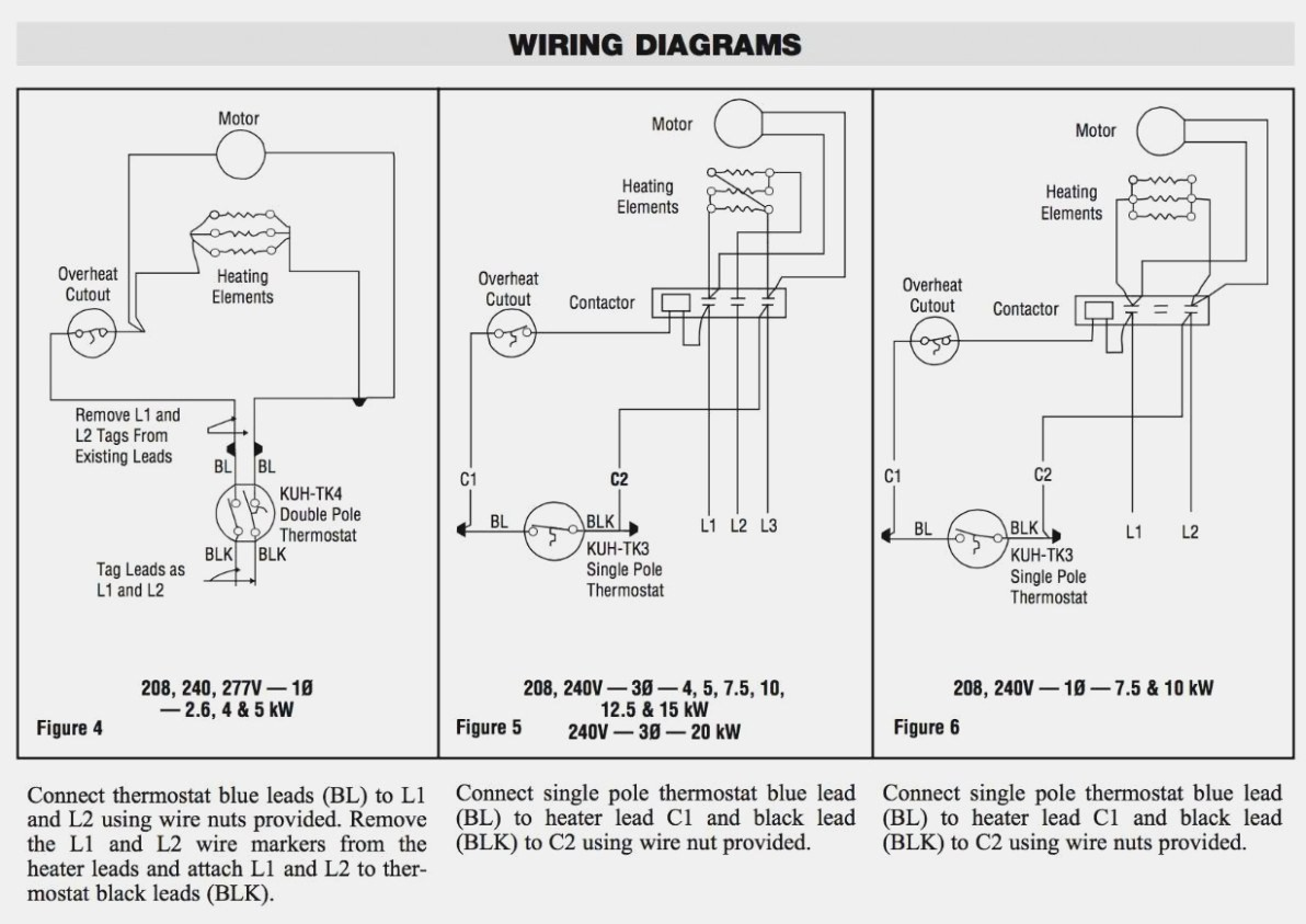 Hot Water Heater Thermostat Wiring Diagram · Chromalox Wiring Diagram
