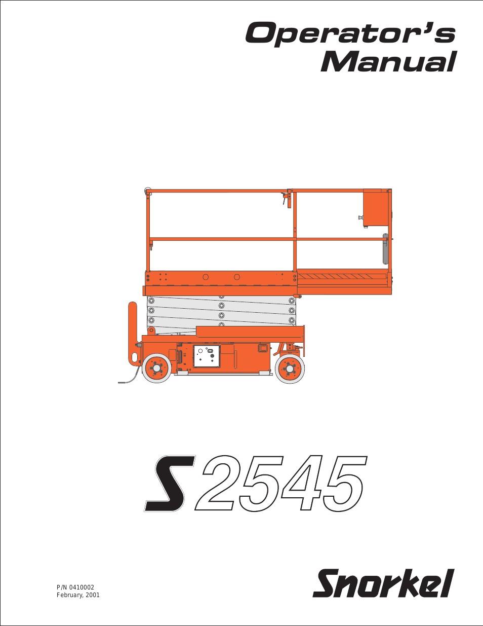 snorkel s2545 page1