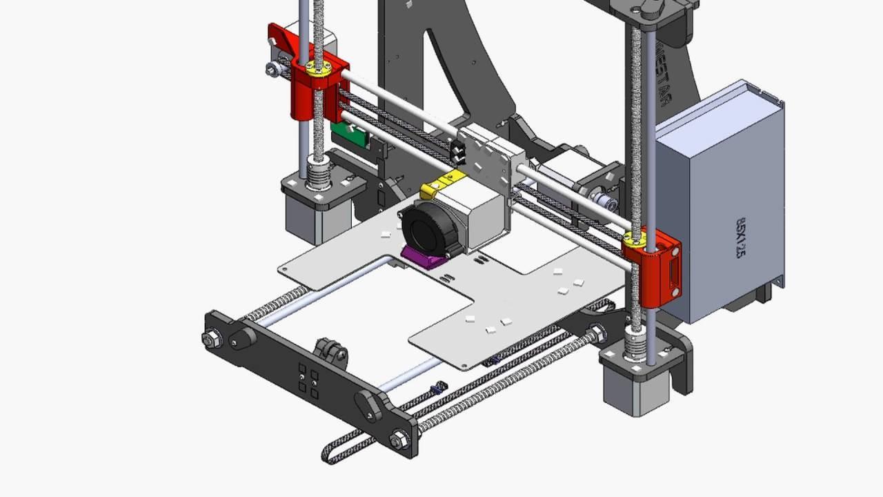 P802N Installation Guide Zonestar 3D printer