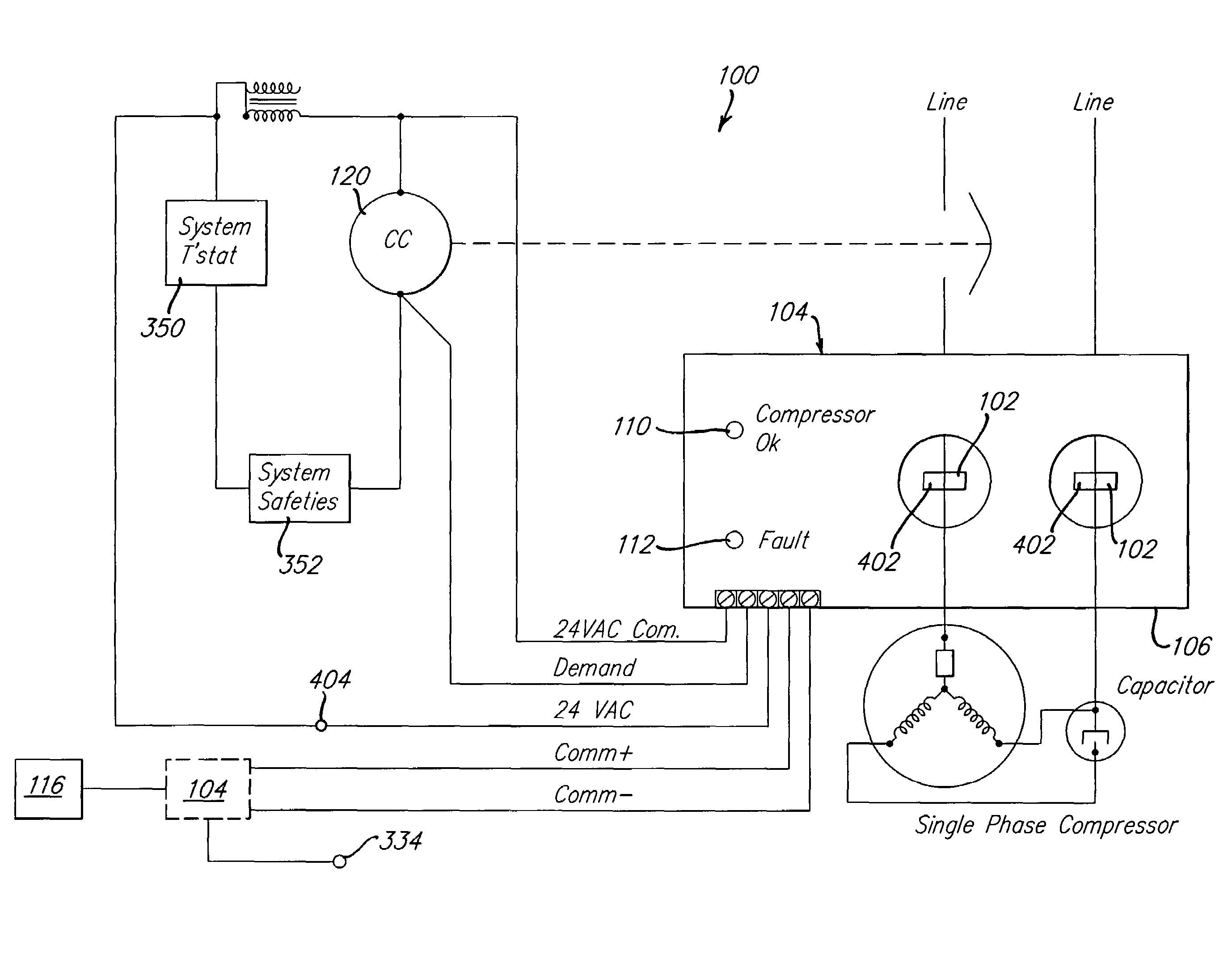 copeland hvac wiring diagram wiring diagram for youa c pressor capacitor wiring diagram older wiring diagram
