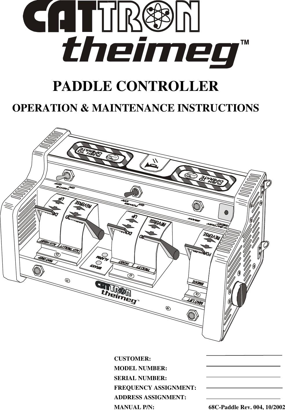 EPH 15 Industrial Remote Controller User Manual 004 PDF Laird Controls North America