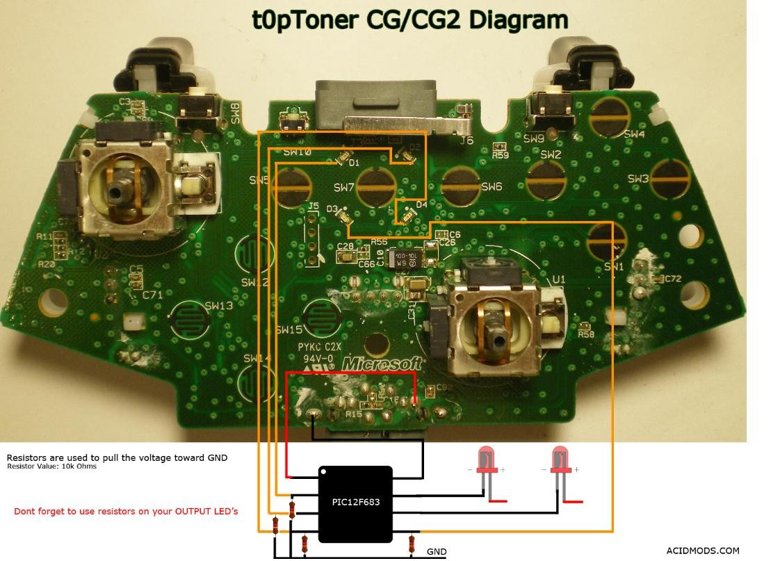 Xbox 360 Controller Board Awesome