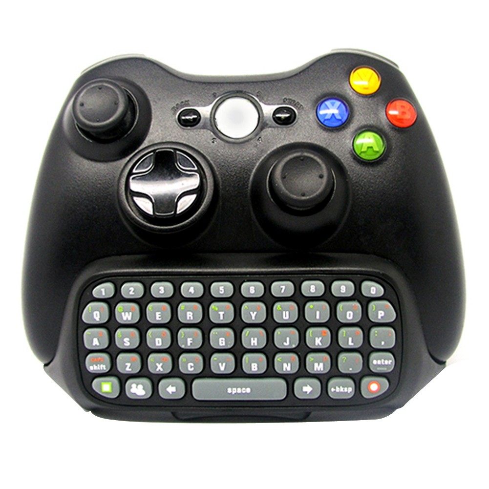 Detail Feedback Questions about Wireless Game Keyboard Chatpad for Controller Mini Gamepad Chating Message Print Key Board Pad for XBOX 360 Controller on